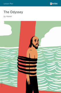Cover image of The Odyssey eNotes Lesson Plan