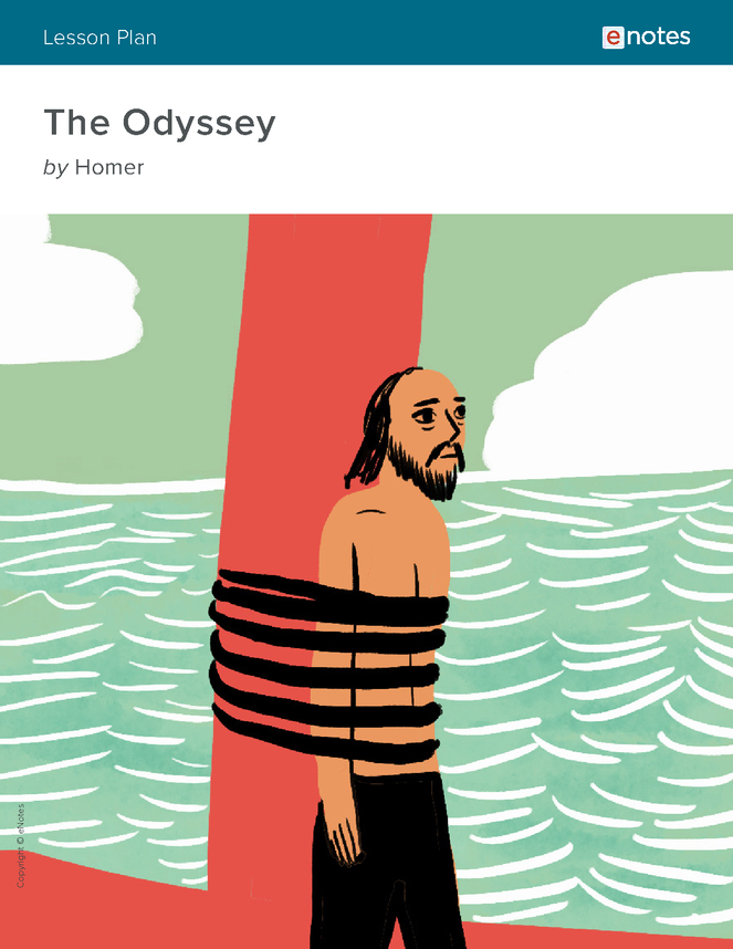the odyssey enotes lesson plan preview image 1