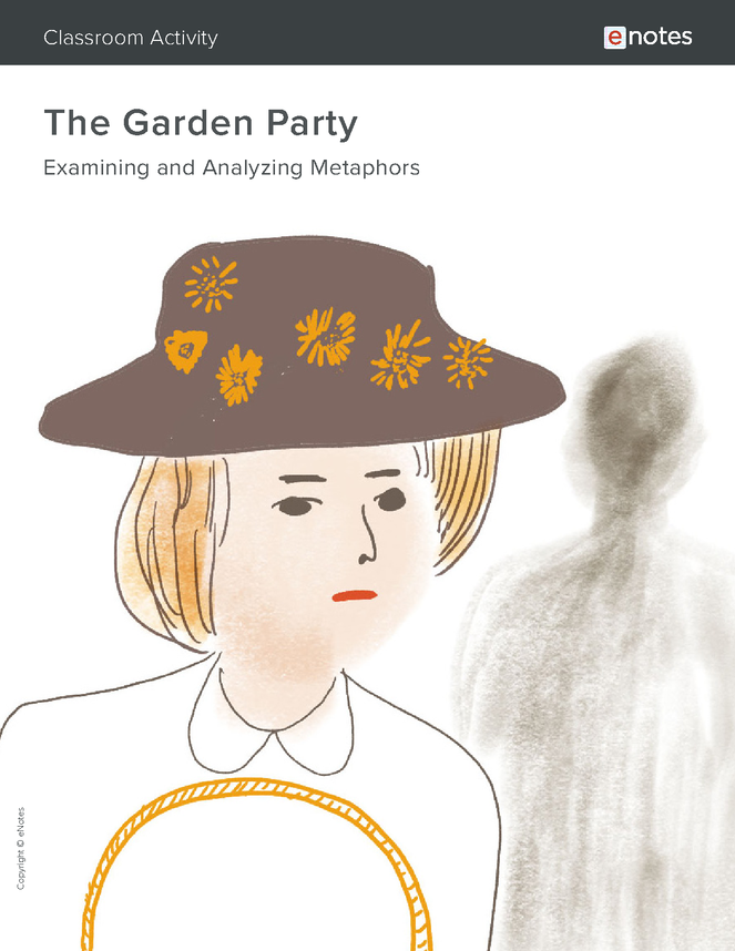the garden party metaphor activity preview image 1