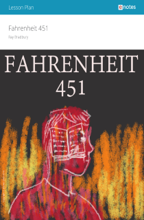 Cover image of Fahrenheit 451 eNotes Lesson Plan