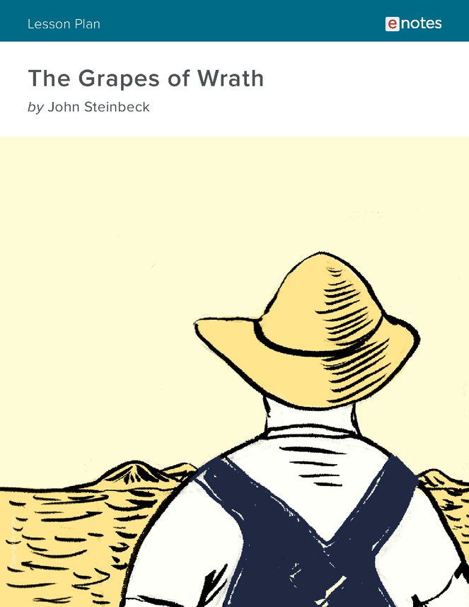 the grapes of wrath enotes lesson plan preview image 1