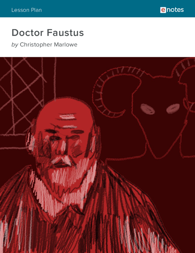 doctor faustus enotes lesson plan preview image 1