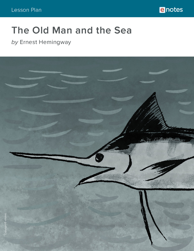 the old man and the sea enotes lesson plan preview image 1