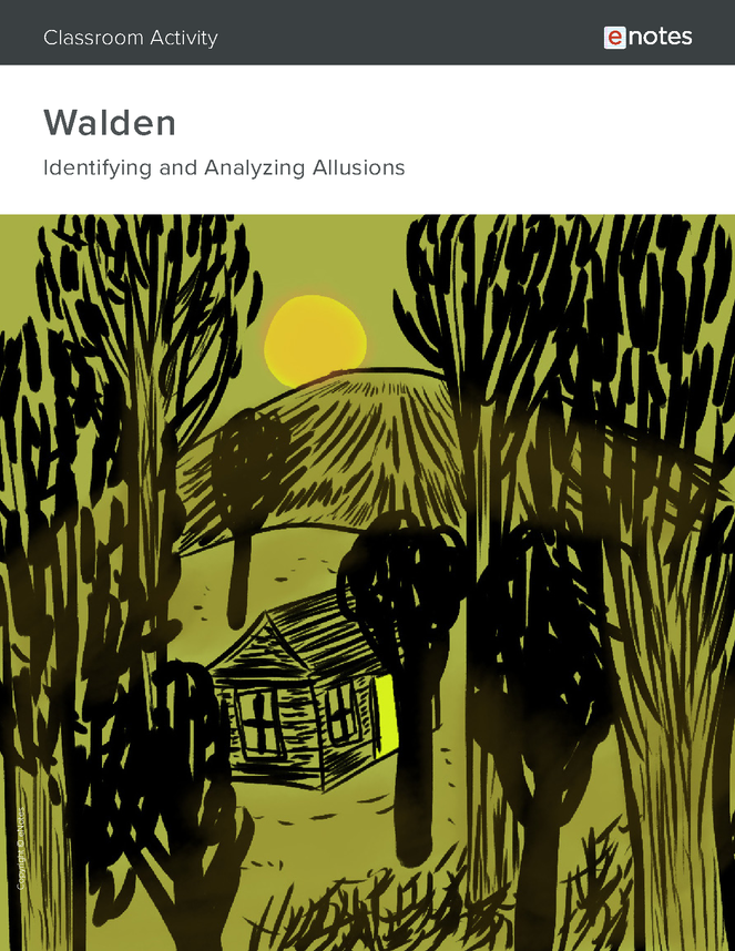 walden allusion activity preview image 1