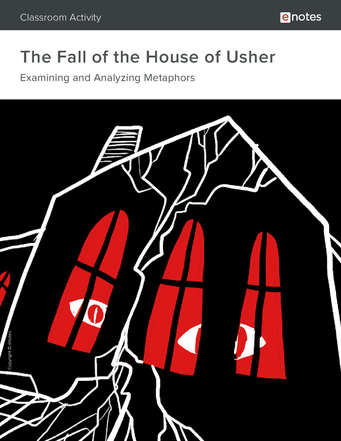 the fall of the house of usher metaphor activity preview image 1