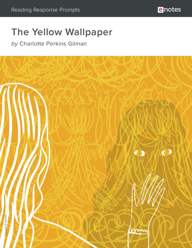 the yellow wallpaper enotes reading response prompts preview image 1