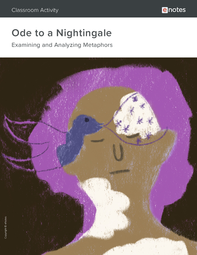 ode to a nightingale metaphor activity preview image 1