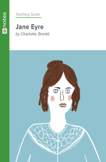 Cover image of Jane Eyre eNotes Teaching Guide