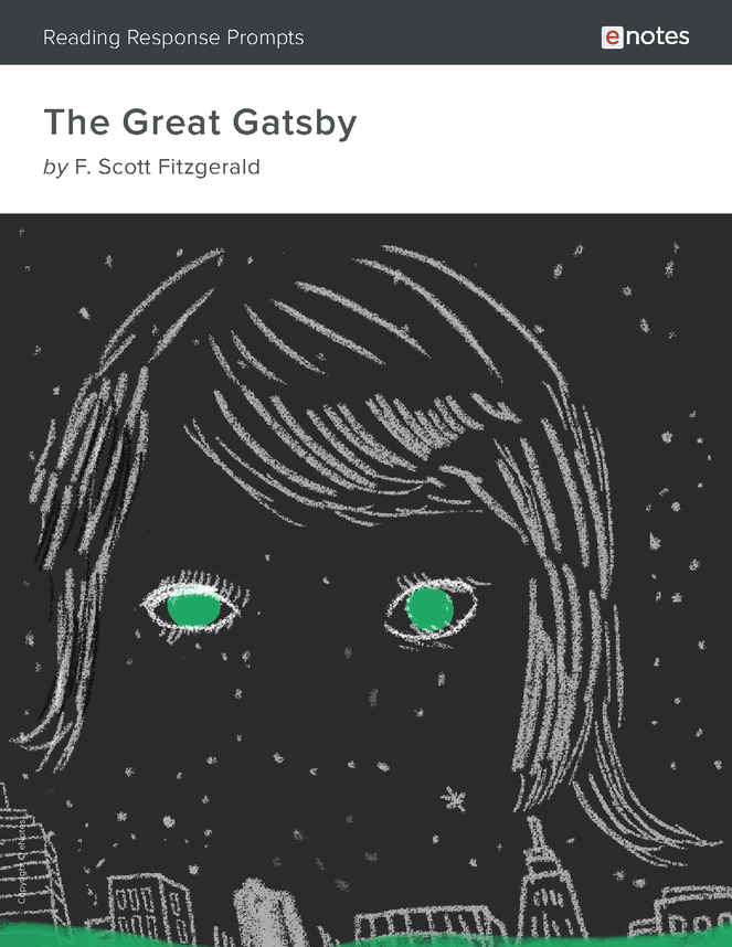 the great gatsby enotes reading response prompts preview image 1
