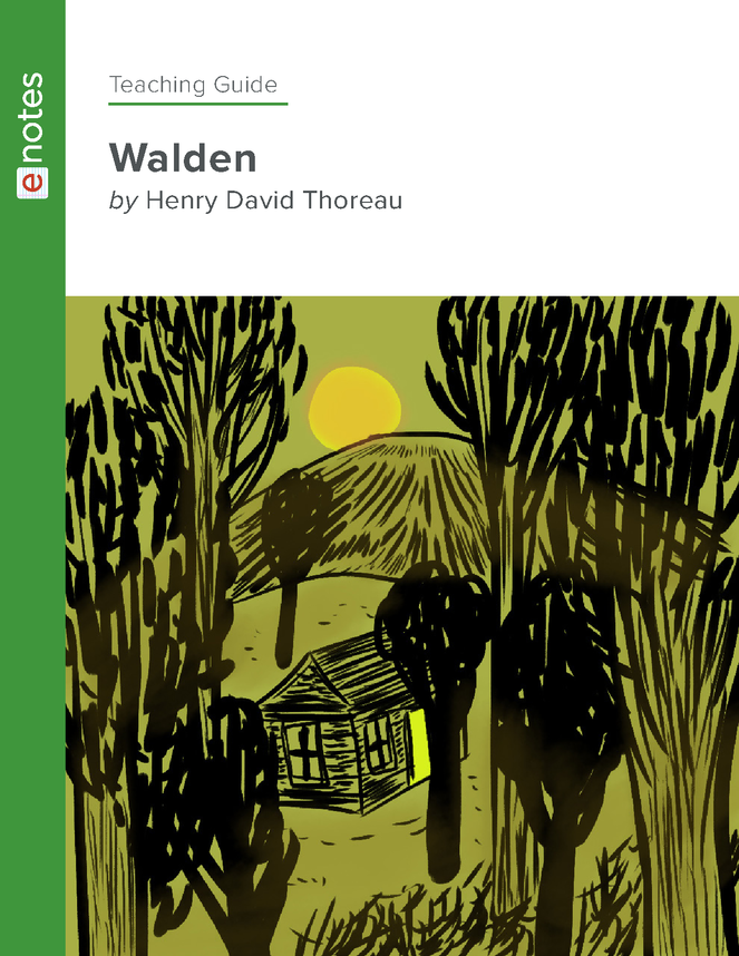 walden enotes teaching guide preview image 1