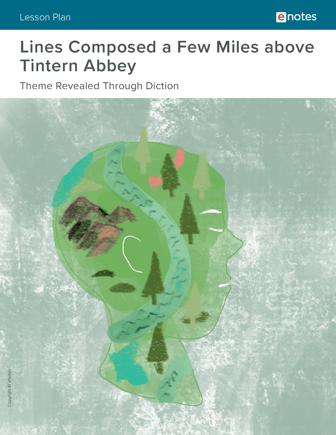 tintern abbey themes lesson plan preview image 1