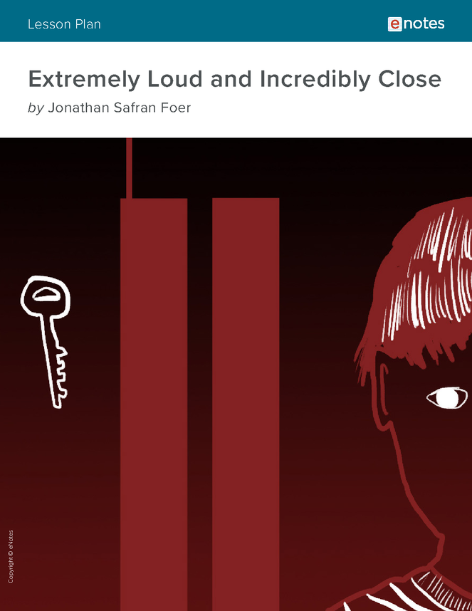 extremely loud and incredibly close enotes lesson plan preview image 1