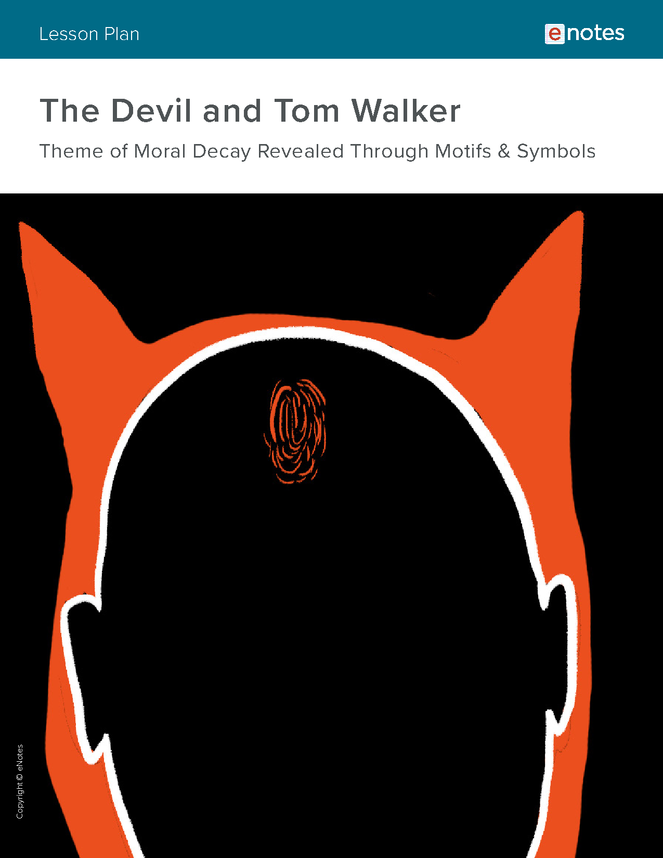 devil and tom walker themes lesson plan preview image 1