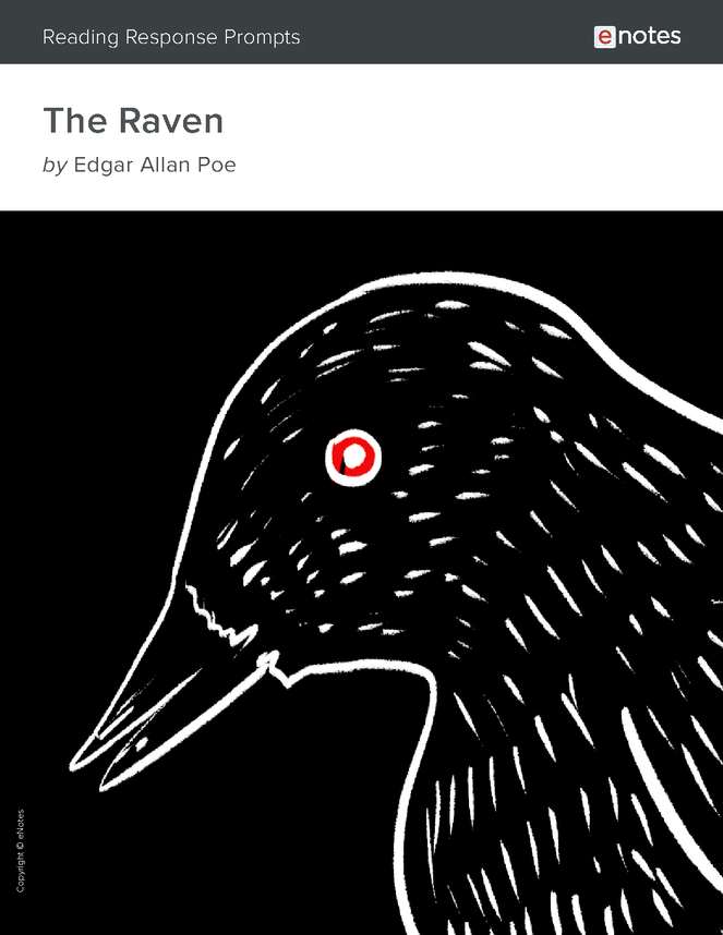 the raven enotes reading response prompts preview image 1