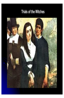 the book cover of Introduction to Salem Witch Trials
