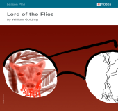 Lord of the Flies eNotes Lesson Plan book cover