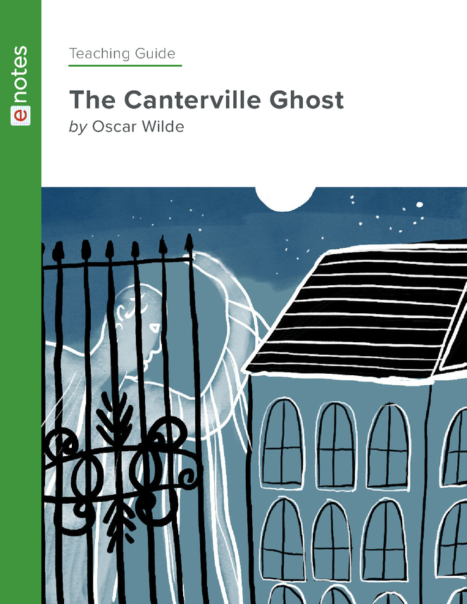 the canterville ghost enotes teaching guide preview image 1