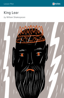 Cover image of King Lear eNotes Lesson Plan