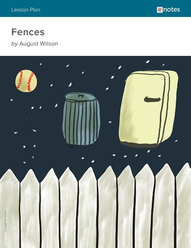 fences enotes lesson plan preview image 1