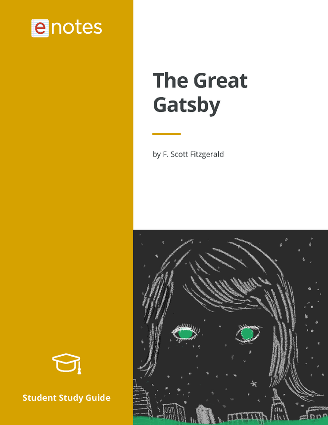 the original enotes study guide for the great gatsby preview image 1