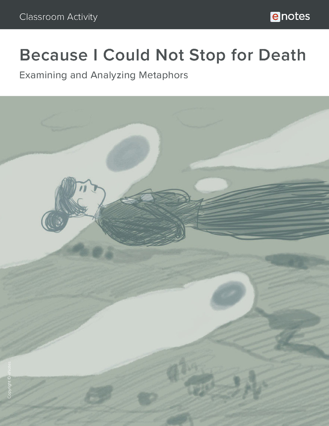 because i could not stop for death metaphor activity preview image 1