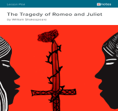 Romeo and Juliet eNotes Lesson Plan book cover