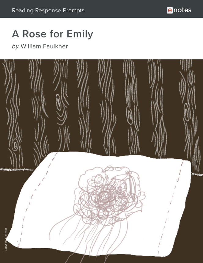 a rose for emily enotes reading response prompts preview image 1