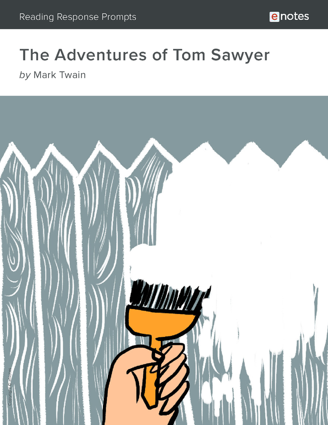 the adventures of tom sawyer enotes reading response prompts preview image 1