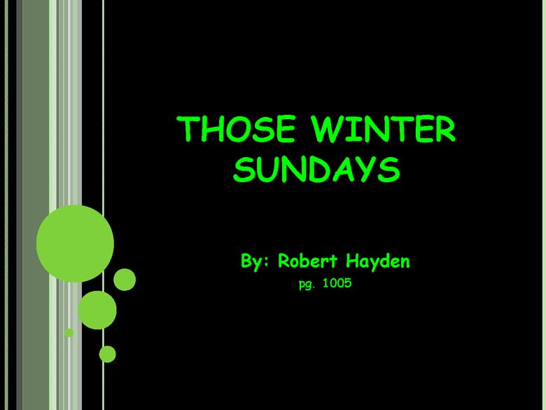 powerpoint--robert hayden preview image 1