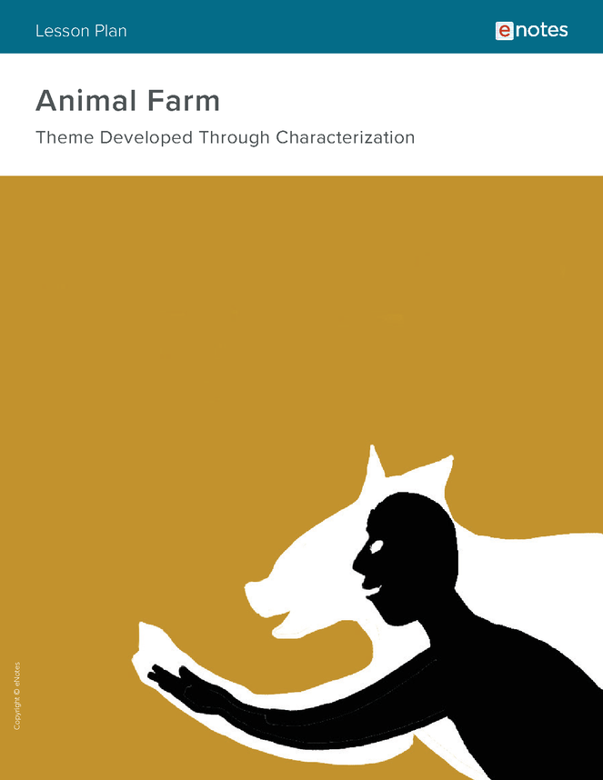 Animal Farm Character Analysis Lesson Plan - Our eNotes