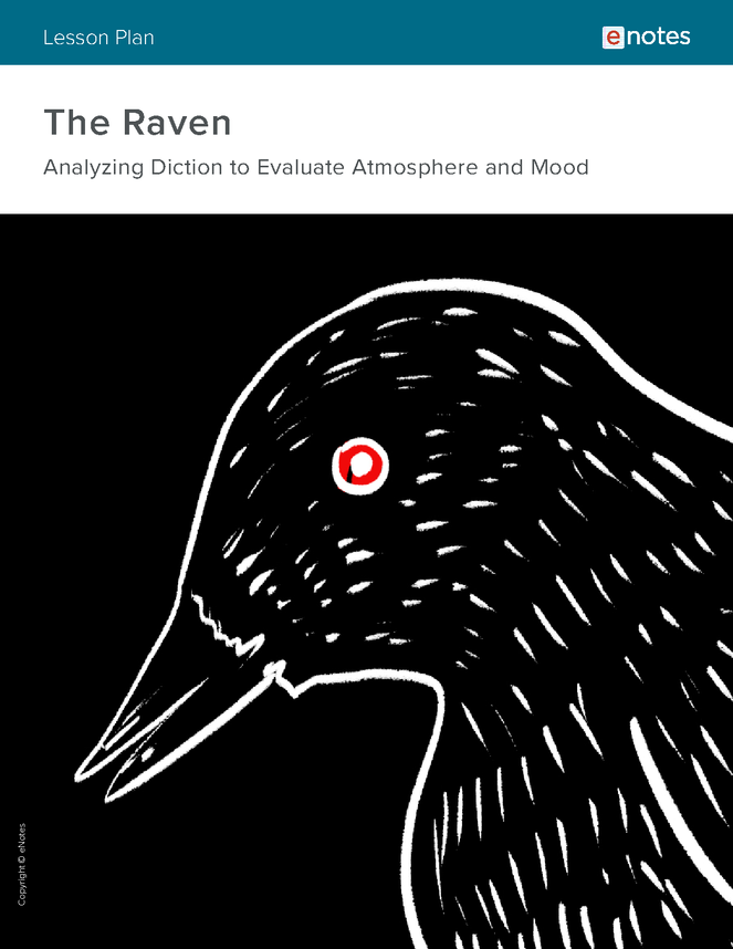 the raven vocabulary lesson plan preview image 1