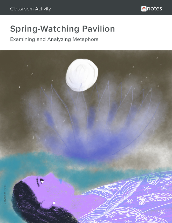 spring-watching pavilion metaphor activity preview image 1