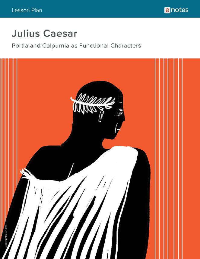 julius caesar character analysis lesson plan preview image 1