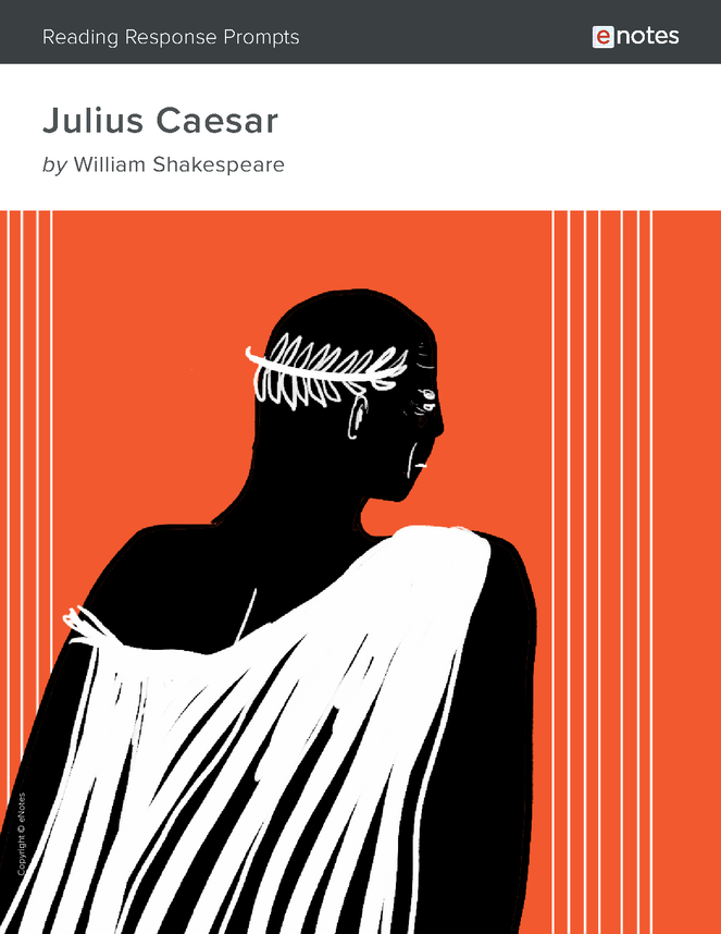 julius caesar enotes reading response prompts preview image 1