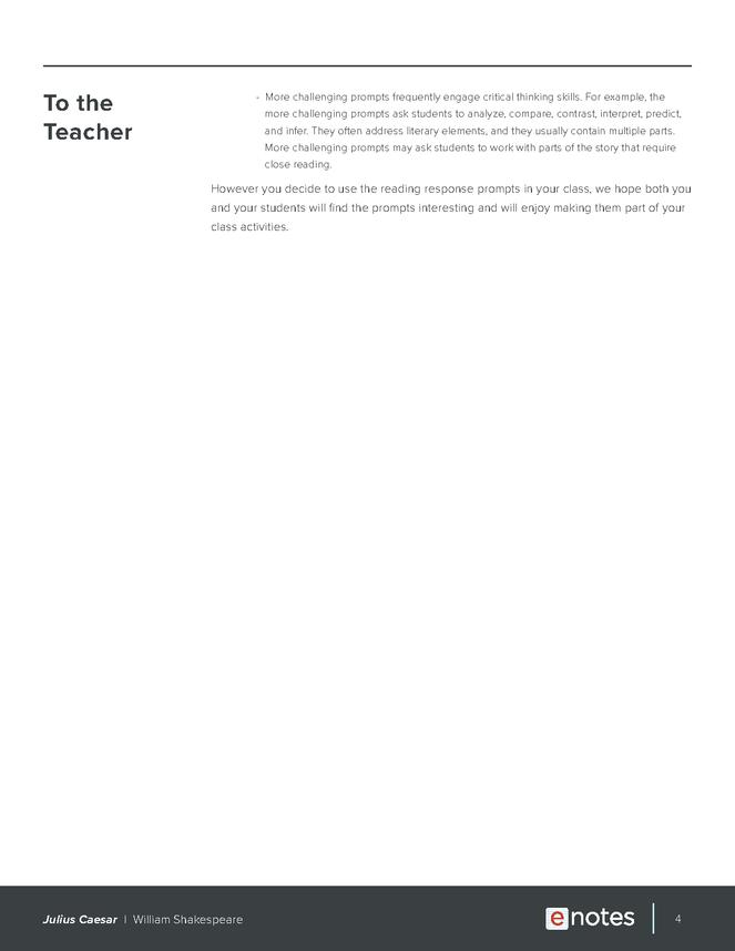 julius caesar enotes reading response prompts preview image 4
