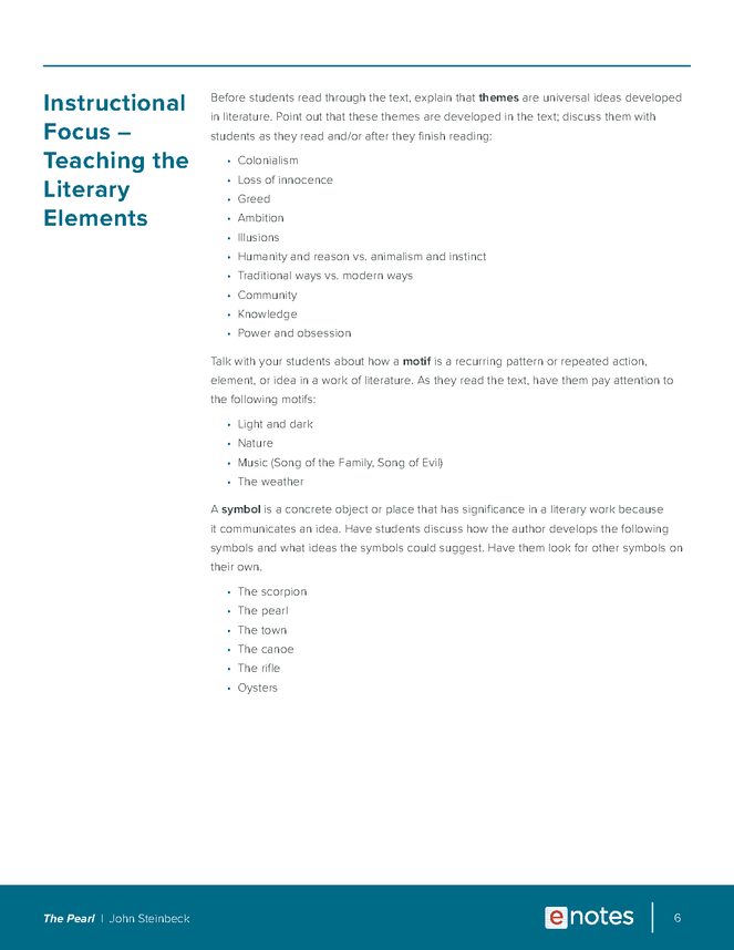the pearl enotes lesson plan preview image 6