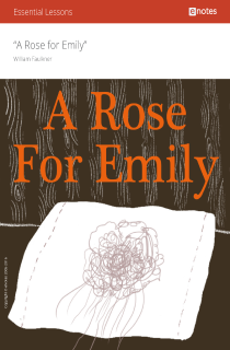 Cover image of A Rose for Emily eNotes Essential Lessons