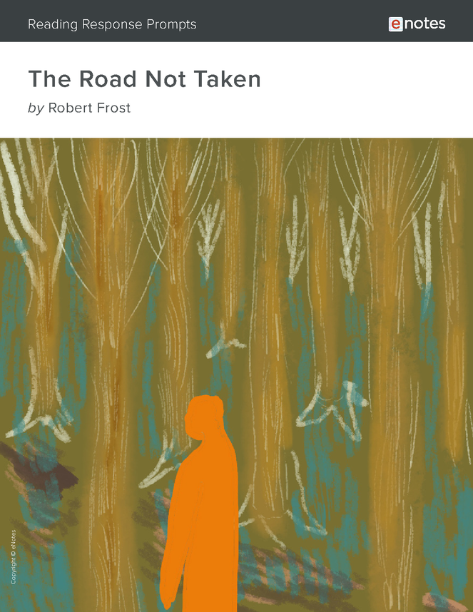 the road not taken enotes reading response prompts preview image 1