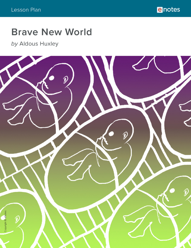 brave new world enotes lesson plan preview image 1