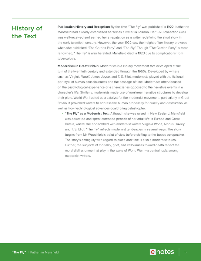 the fly enotes teaching guide preview image 5