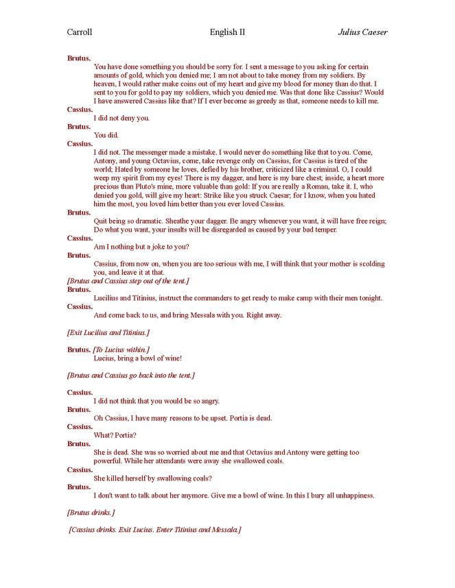 plain english julius caesar act iv preview image 4