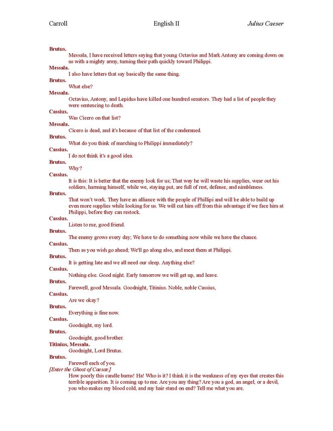 plain english julius caesar act iv preview image 5