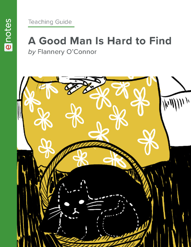 a good man is hard to find enotes teaching guide preview image 1