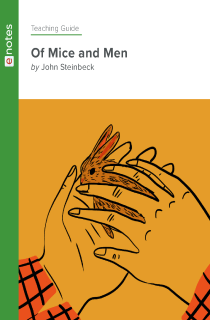 Cover image of Of Mice and Men eNotes Teaching Guide