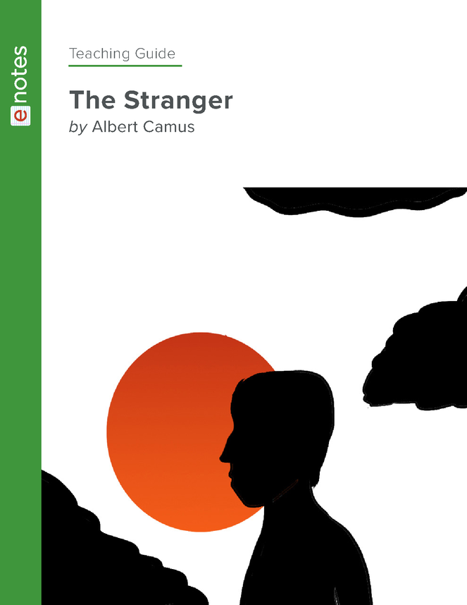 the stranger enotes teaching guide preview image 1