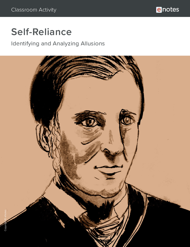 self-reliance allusion activity preview image 1