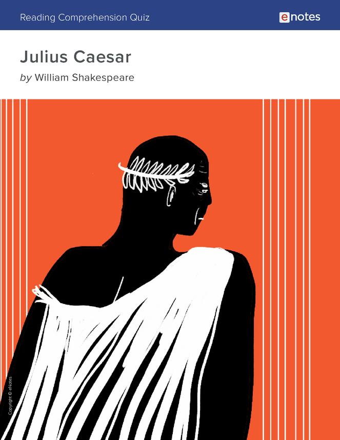julius caesar reading comprehension quiz preview image 1