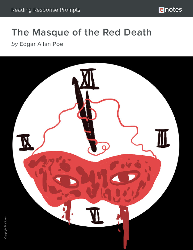 the masque of the red death enotes reading response prompts preview image 1