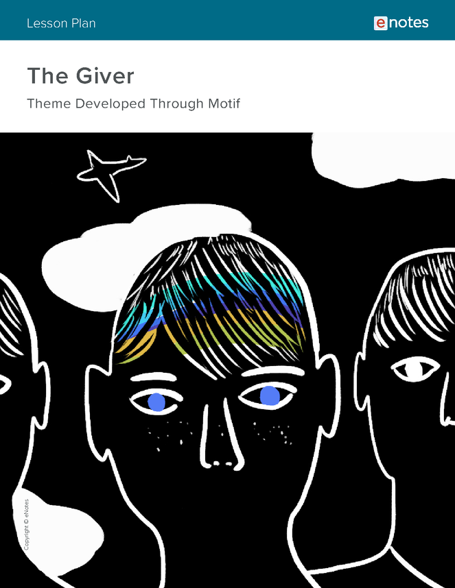 the giver themes lesson plan preview image 1