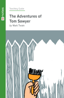 Cover image of The Adventures of Tom Sawyer eNotes Teaching Guide